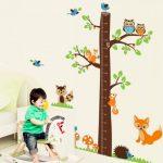 Okrasitev otroške sobe s stenskimi nalepkami